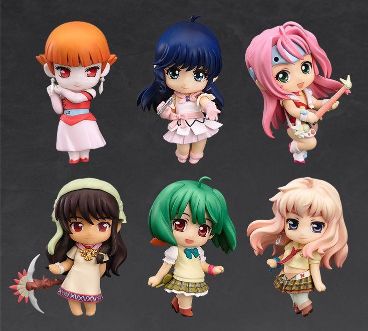 Nendoroid Petite: Macross Heroines