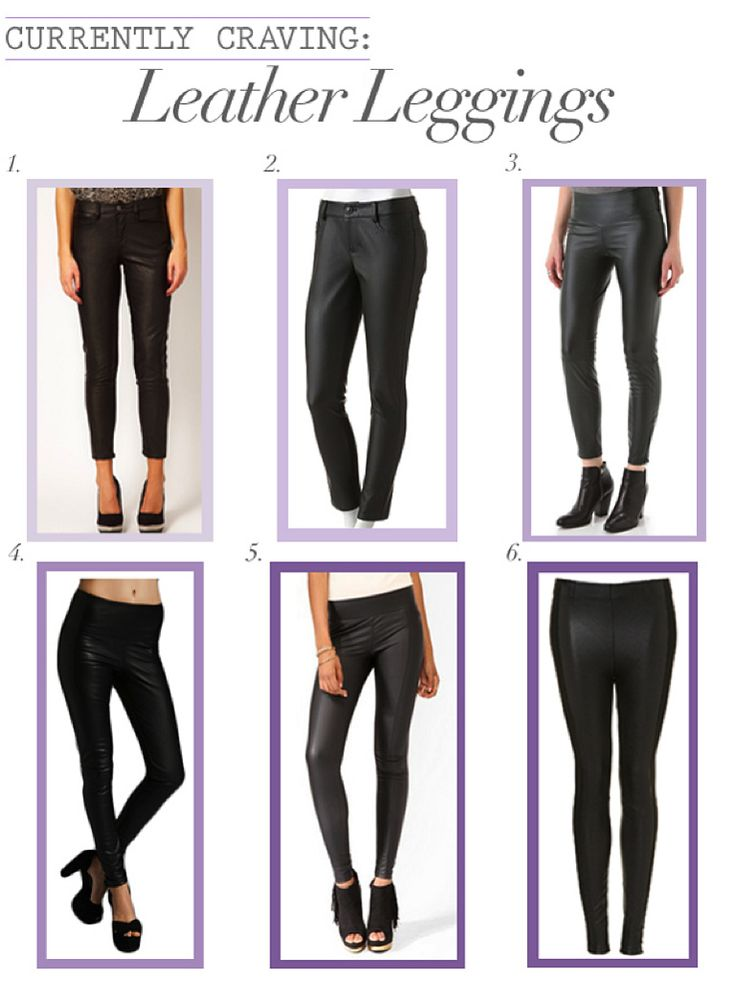 I love my leather leggings! look at all these fun ones!