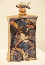 Vincent Potier 1955-2011 flacon poisson