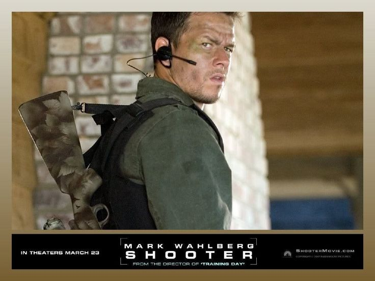 Shooter - Not a movie I would have picked for myself, but watching this with Richard on Netflix a few times has made me a fan. Plus MW is nice to watch.