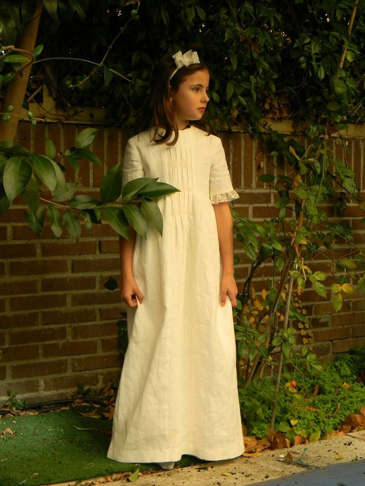 Old Fashioned Communion Dresses