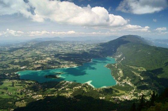 Lac d'Aiguebelette, France