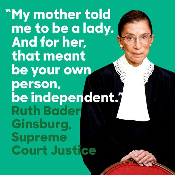 Happy birthday to Supreme Court Justice Ruth Bader Ginsburg, the second female justice and a lifelong fighter for equal rights. Having paved the way for women and experienced sex discrimination herself at various points of her life—the first tenured woman at Columbia Law School and co-founder of the women's rights project at the ACLU, who had once been rejected for a clerkship because of her gender—she dedicated her career to protecting women's rights under the Constitution.