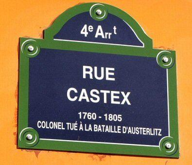 La rue Castex  (Paris 4ème)