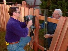 How to Build a Picket Fence  Building a picket fence from cedar or treated lumber adds beauty, privacy and a welcome buffer from the street.