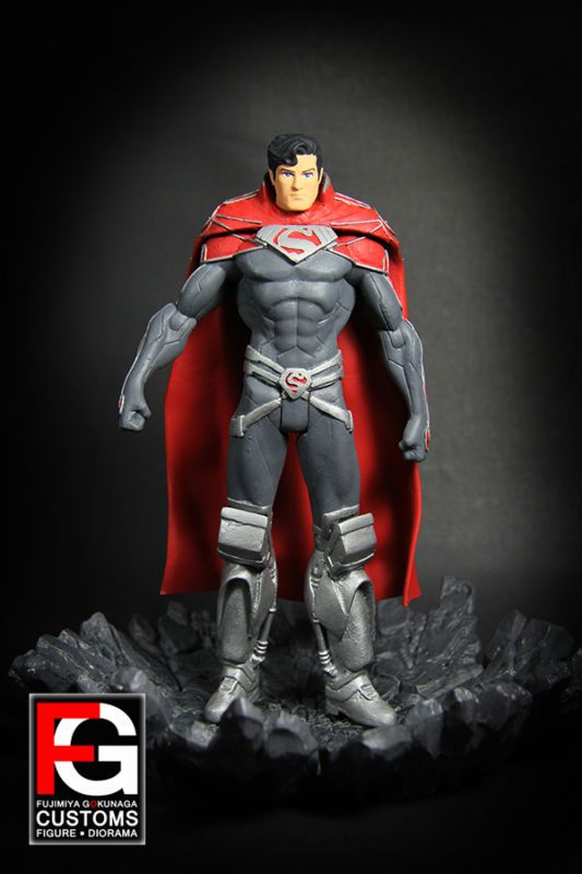 DCC Superman Godfall (DC Direct) Custom Action Figure