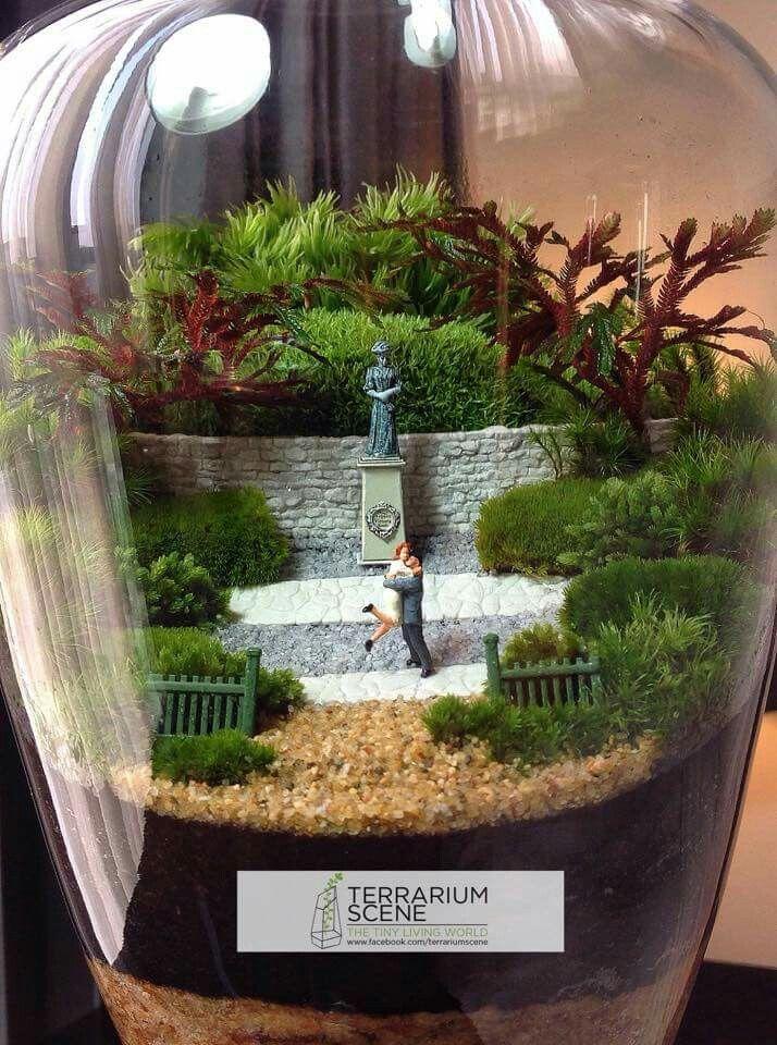 17 meilleures id es propos de jardins miniatures sur pinterest maisons de f es jardins de for Idee jardin japonais miniature