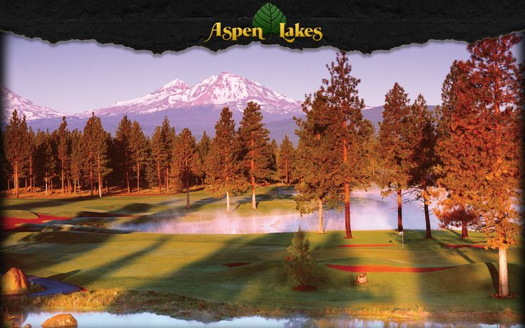 Aspen Lakes in Sisters.  More beautiful Central Oregon views.  Whoa...