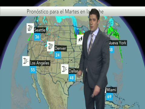 Mar 15, 2016; 12:27 PM ET Five-day Spanish Weather Forecast for San Antonio, TX