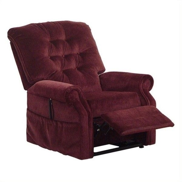 Catnapper Patriot Power Lift Full Lay-Out Oversized Recliner Chair (1,075 CAD) ❤ liked on Polyvore featuring home, furniture, chairs, recliners, burgundy, oversized recliner chair, oversized furniture, catnapper furniture, computer chair and over sized chair
