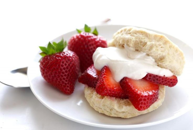 Vegan Strawberry Shortcake with Coconut Whipped Cream Recipe