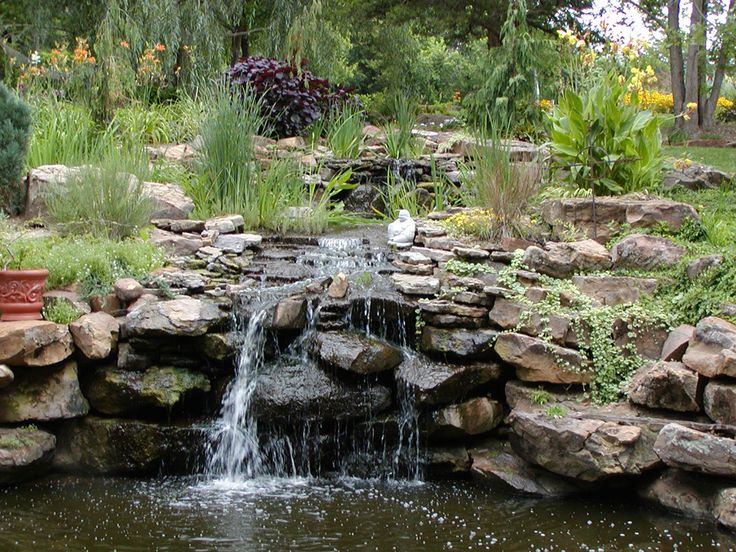 30 best images about waterfall on pinterest backyard for Secluded backyard ideas