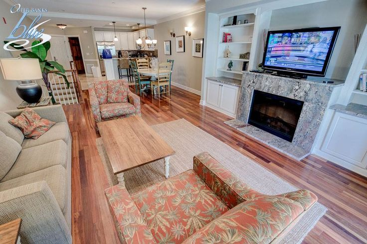 Big things come in small packages at 'Big Wednesday'. 2 bedrooms, 3 bathrooms, #KillDevilHills  July weeks have been discounted for up to $130 off! #OBX #OuterBanks #OuterBanksBlue #VacationRental