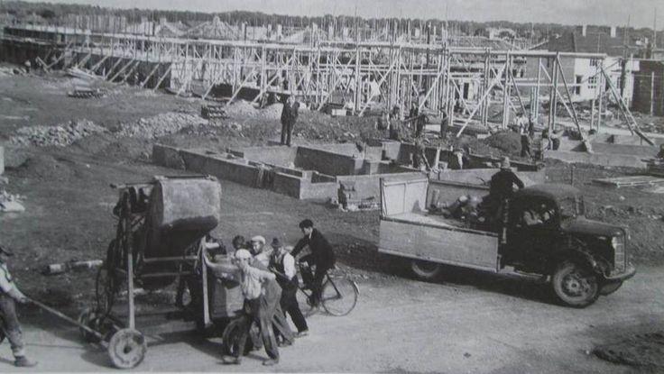 Kylemore Rd being built 1948