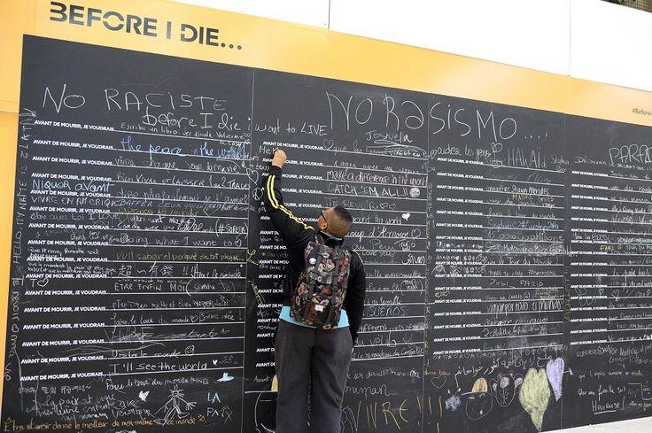 """""""Prima di morire"""": la mostra alla Gare de Lyon che fa discutere"""