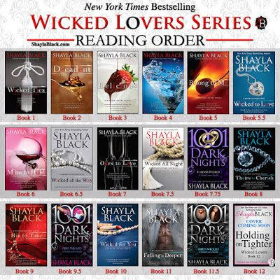Marie's Tempting Reads: Wicked Lovers by Shayla Black!