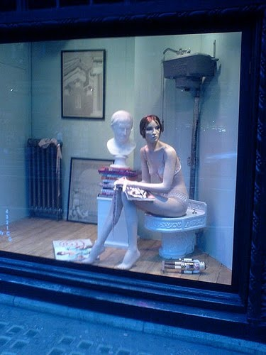 Window Display from Liberty's Department Store, London
