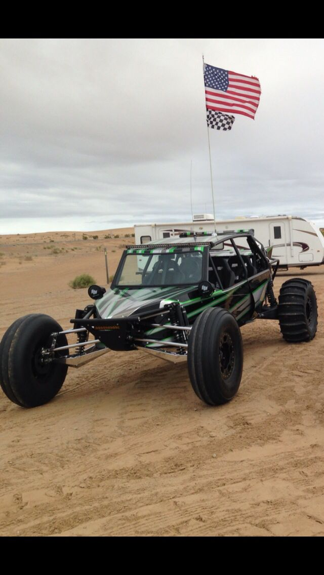 Very sick Extreme Performance Sand Car. Shines up real nice!!!