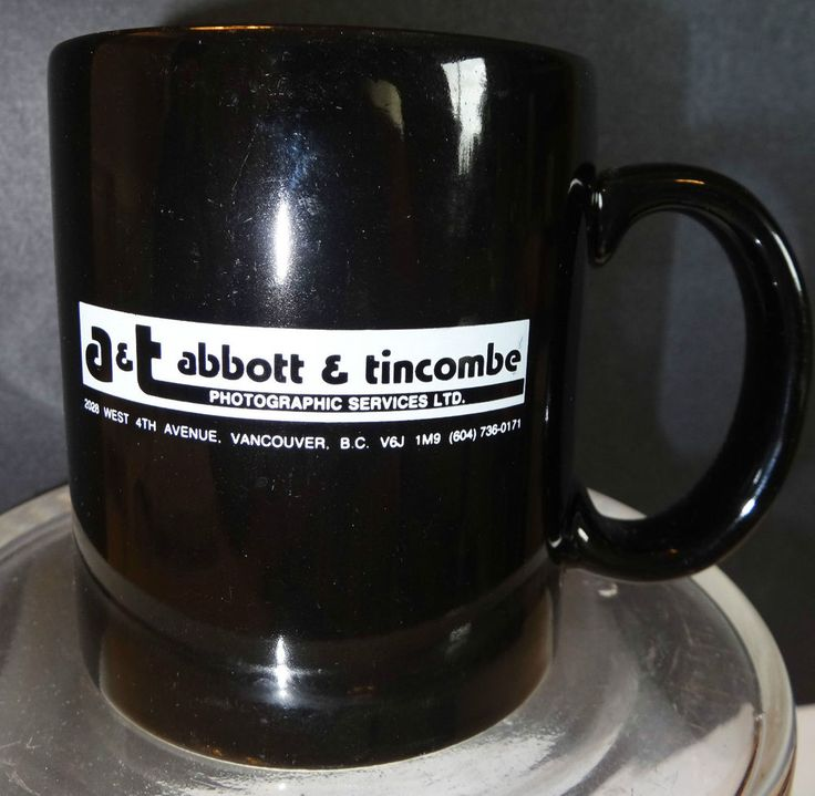 Abbott Tincombe Ilford Photographic Services Vancouver Bc Coffee Tea Mug Cup