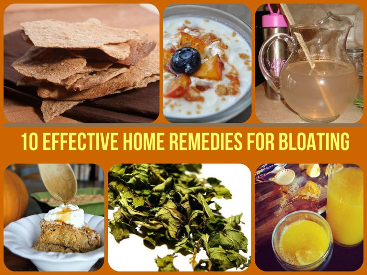 The Best home remedies for stomach bloating.. Take a look!