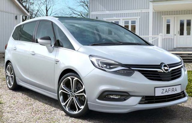 2021 Opel Zafira First Spy Photos Opel Mini Van Volkswagen Touran
