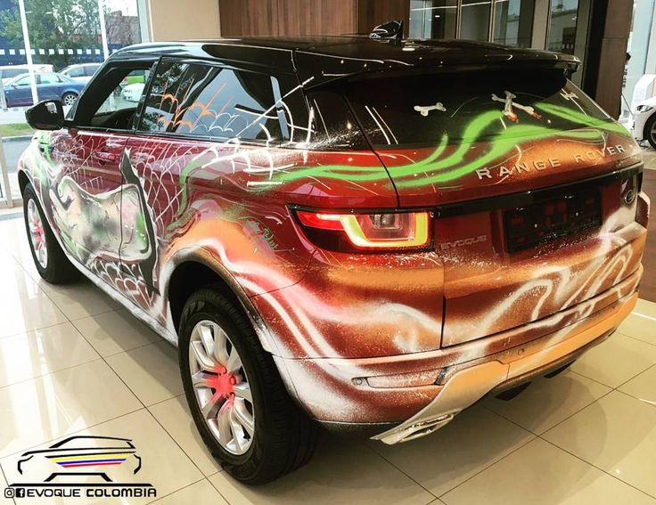"Gefällt 686 Mal, 1 Kommentare - Range Rover Evoque Colombia (@evoquecolombia) auf Instagram: ""Especial de Halloween ¿Que tal esta Coupe? #RangeRoverHalloween Foto de:@maks_jlreurosib…"""