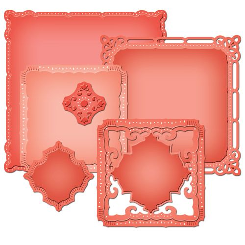 Spellbinders Marvelous Squares.I love this versatile dies! Have made some lovely gatefold cards using them.