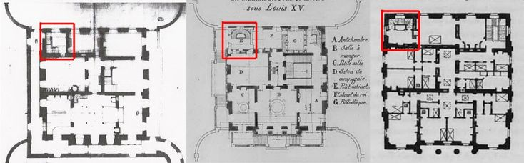 40 best images about petit trianon plans on pinterest for Chambre louis xv