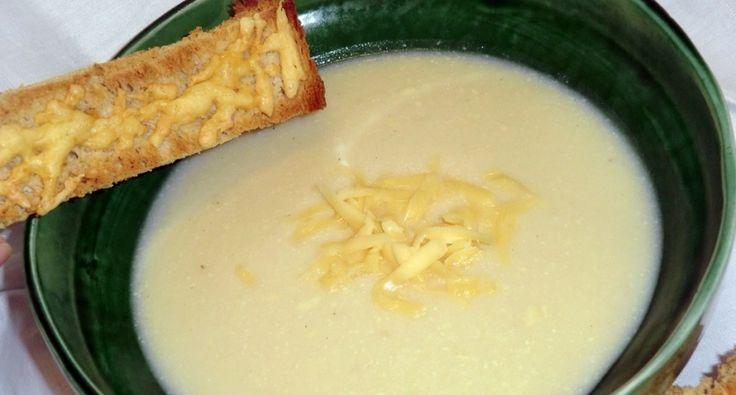 Karfiol krémleves recept, sajtos pirítóssal | APRÓSÉF.HU - receptek képekkel