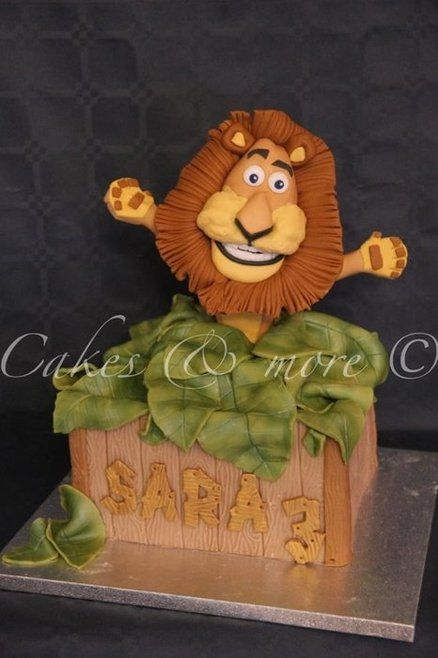 Alex Madagascar cake  Cake by cakesandmore