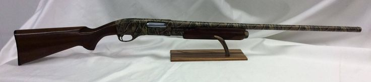 Remington 870 Wingmaster. Hydro Dipped in Marsh Land Camo Pattern