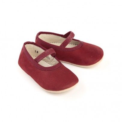 Baby ballerina shoes - or ruby slippers... hard to say!