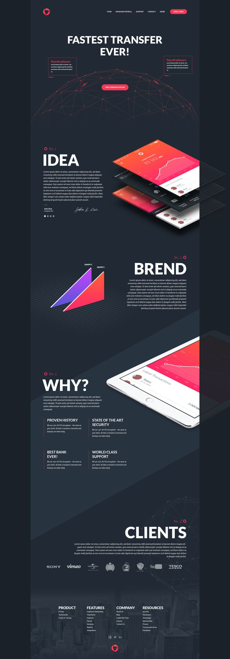 I like this color scheme - maybe inverted. Dribbble - Fun-project.png by…