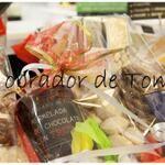 Cestas de Navidad artesanas, dulces y originales. El obrador de Tom.c/León y Escosura 8. Oviedo. www.elobradordetom.com. #estas. #Navidad. #artesania