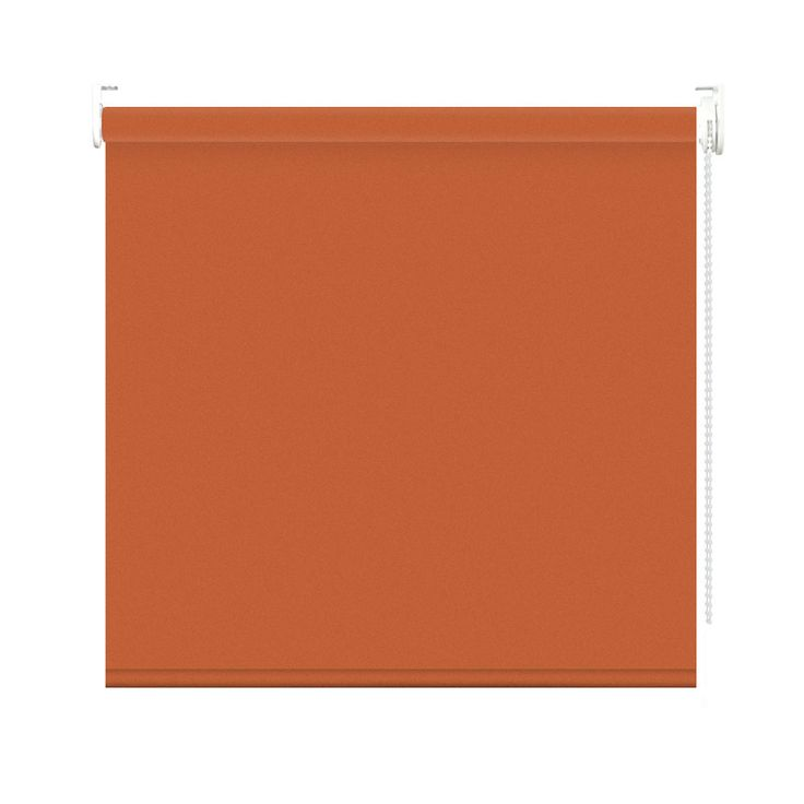 Estor enrollable opaco color naranja #estor #estoresenrollables #puntogar #estoropaco #estornaranja #naranja