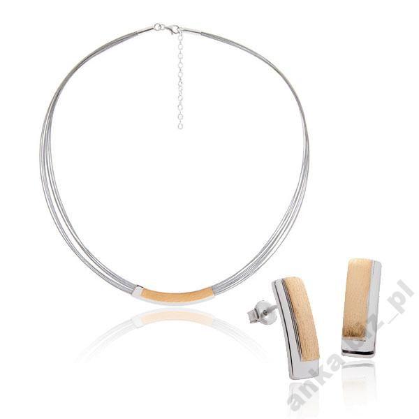 AnKaBizuteria* Biżuteria srebrna pozłacana Piękna!