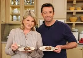 Yes, it's a banana bread recipe, but who can resist a picture of Hugh Jackman.  :)