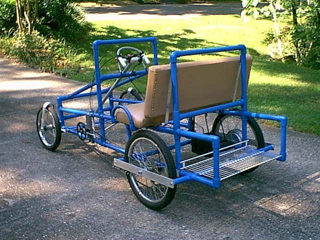 Build an adult pedal car