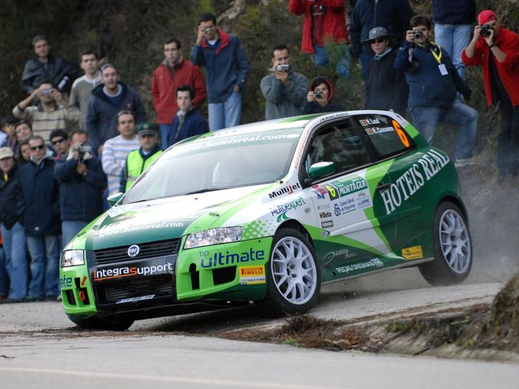 FIAT Stilo rally car