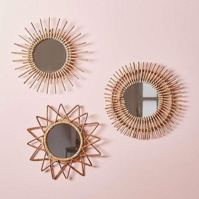 need these mirrors via @bronbayhangingchairs
