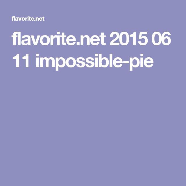 flavorite.net 2015 06 11 impossible-pie