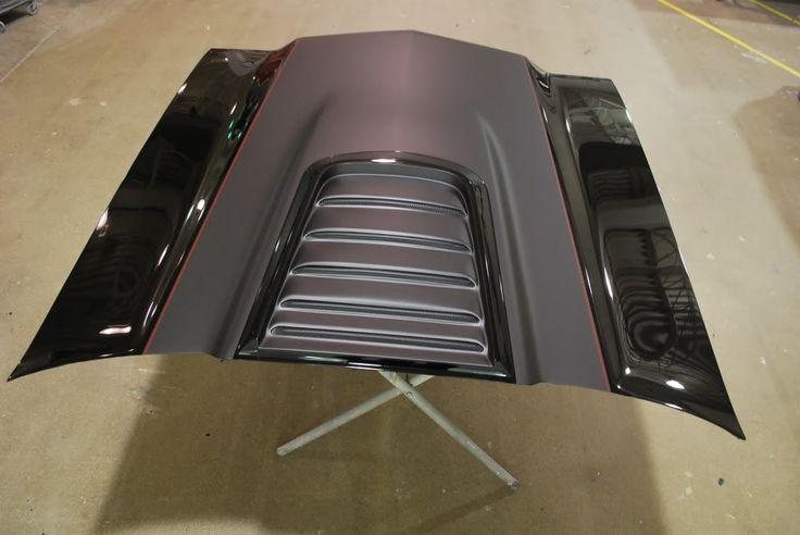 Roadster Shop S 70 Chevelle Custom Louvered Hood Back In