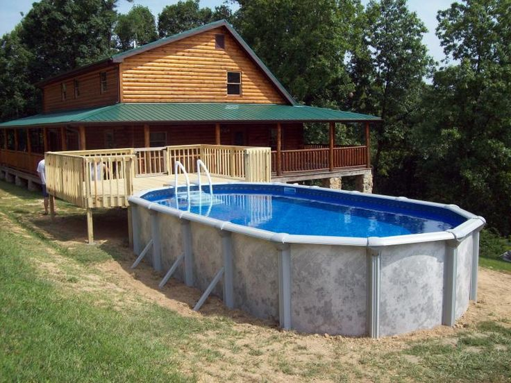 above ground pool pictures with decks parsons company pools above ground pool
