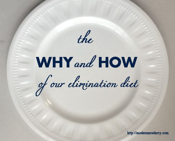 why and how of her elimination diet