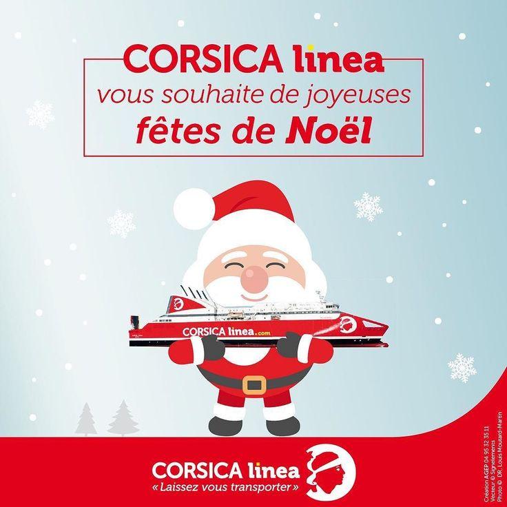 Toute l'équipe de #CorsicaLinea vous souhaite de belles fêtes de fin d'année