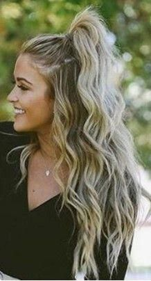 34 Cute and Easy Long Hairstyles for School #Easyhairstyles