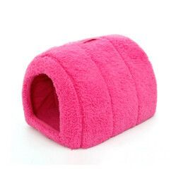 Brown Arched Cozy Cave Dog Bed - Pet Beds