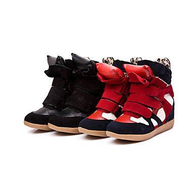 Skóra Comfort Wedge Heel Sneakers Moda Casual Shoes (Więcej kolorów) – EUR € 41.24