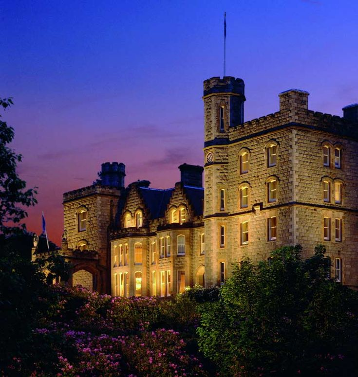 Best Romantic Hotels Scotland: Inverlochy Castle Hotel In Fort William