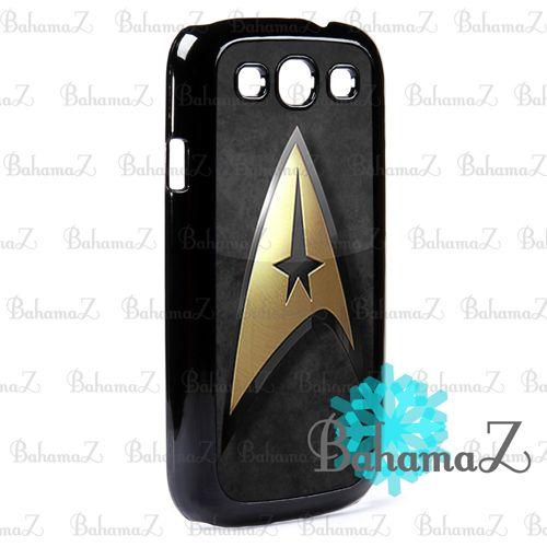 Star Trek Gold Logo Samsung Galaxy S3 I9300 Case | Bahamaz - Accessories on ArtFire